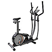 V-FIT PMCE-1 PROGRAMMABLE MAGNETIC 2-IN-1 CYCLE-ELLIPTICAL TRAINER