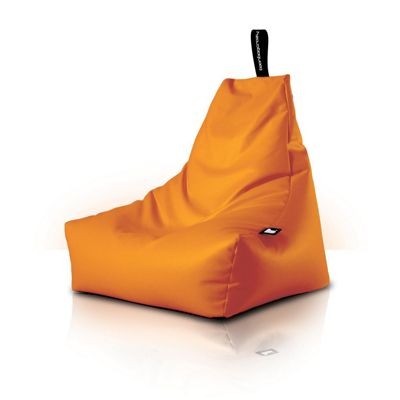 Beanbagcrazy Mighty B Bag Orange Faux Leather
