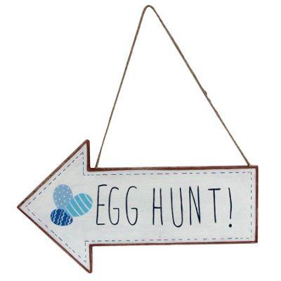 Easter Egg Hunt Arrow Sign
