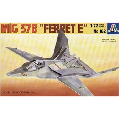 Italeri Mig-37B Ferret E 162 1:72 Aircraft Model Kit