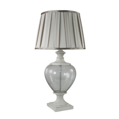 Champagne and Ivory Regency Statement Lamp