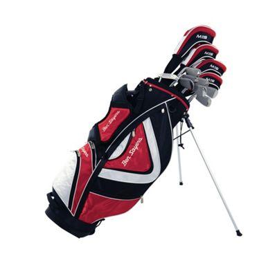 Ben Sayers Men's M15 Right Hand Regular Stand Bag - Red/Black