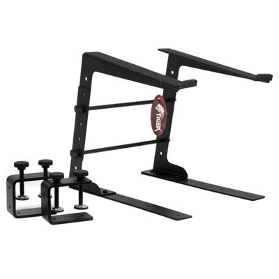 Tiger Laptop Stand / DJ Stand with Clamps
