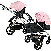 My Babiie MB150BP 3 in 1 Pushchair (Baby Pink)