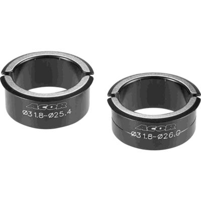 Acor Alloy Handlebar Spacers: ATB. 25.4-31.8mm