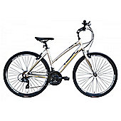 "Tiger Explorer 21 Speed 18"" Alloy 700c Step Through Hybrid Bike"