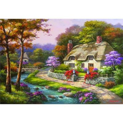 Spring Cottage - 500pc Puzzle