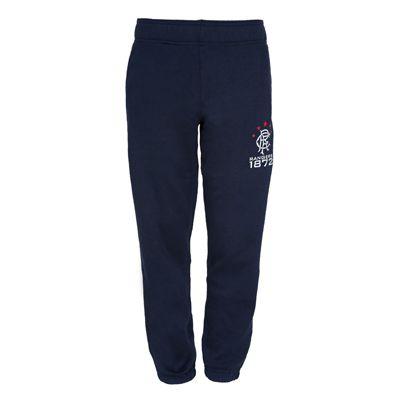 Rangers FC Boys Slim Fit Jog Pants Navy 6-7 Years