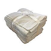 Rapport 500gsm 7 Piece Towel Set - White