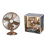 "Limitless 12"" Inch Copper Desk Fan"