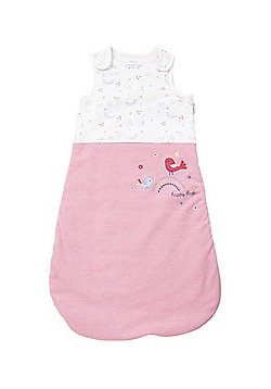 F&F Birdie Applique 1.5 Tog Sleepbag - Pink Multi