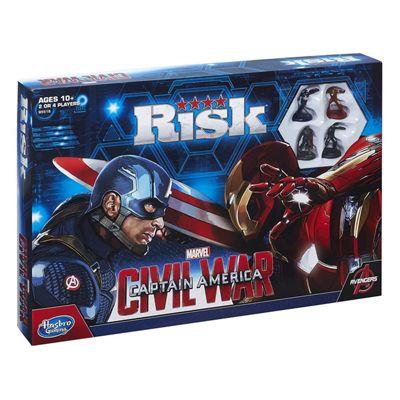 Hasbro Risk: Captain America: Civil War Edition Board Game