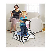 GetGo A-Zebra Toddler Trampoline