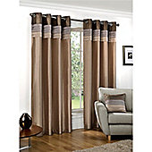 Hamilton McBride Seattle Lined Ring Top Curtains - Natural