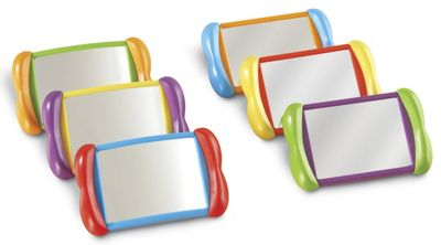 Learning Resources All About Me 2-in-1 Mirror Set of 6