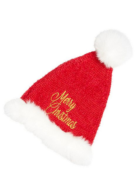 ef7233dae F&F A Hat With A Heart Merry Christmas Santa Hat