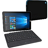 "Linx 1020 10.1"" Tablet with Keyboard & Official Linx Tablet Sleeve Case"