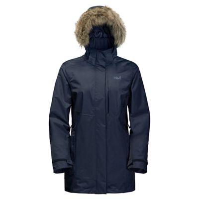 Jack Wolfskin Ladies Arctic Ocean Jacket Night Blue XL