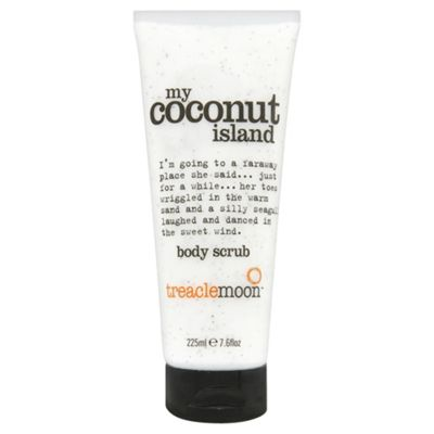 Treaclemoon Coconut Island Body Scrub