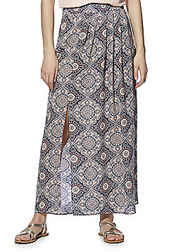 Only Paisley Print Maxi Skirt - Multi