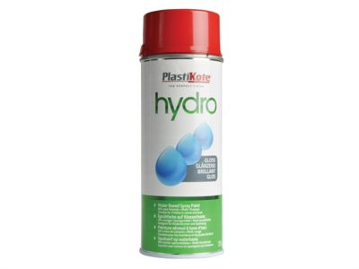 Plasti-kote Hydro Spray Paint Deep Red Gloss 350ml