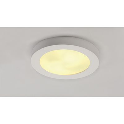 Ceiling Light Downlight Round White Plaster Max. 15W