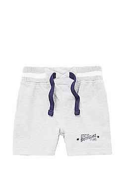 Minoti Jersey Shorts - Grey marl