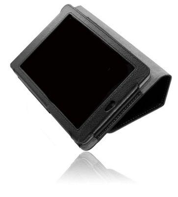 U-bop Neo-ORBIT Vertical Tablet Flip Case Black - For Samsung Galaxy Tab 2 101