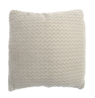 Country Club Chevron Cushion 43cm x 43cm, Natural