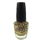 Pretty Glitter Pop Nail Polish-Gold & Silver