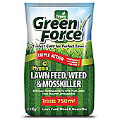 GreenForce Lawn Feed Weed & Mosskiller 750m2 (15kg Bag) (G21022)