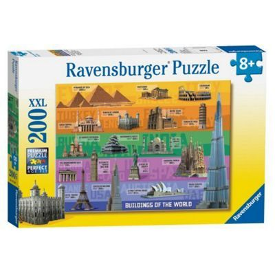 World Famous Buildings - XXL 200 Puzzle
