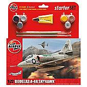 Airfix Douglas A-4B Skyhawk 1:72 Scale Starter Set