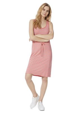 Vila Striped Jersey Dress Multi XL