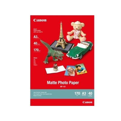 Canon MP-101 Photo Paper, A3, 297 mm x 420 mm, 170 g/m², Matte
