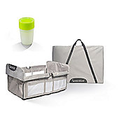 Spacecot Alpha Quick Fold Travel Cot with Lite Cup - Full Size