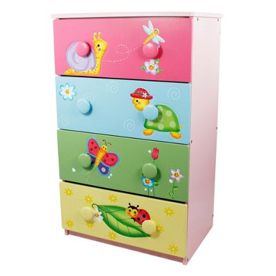Fantasy Fields Magic Garden 4 Drawer 8 Handle Chest