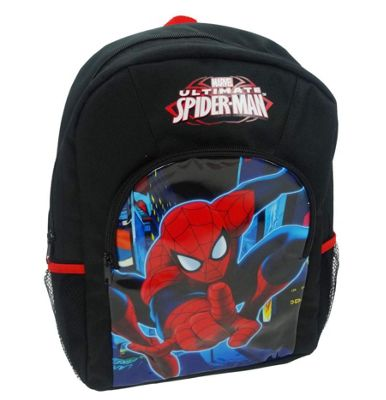 Character Marvel Ultimate Spiderman 'Neon' Sports Backpack
