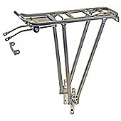 Ventura Adjustable Alloy Pannier Rack Silver