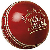 "Dukes Cricket Club Match ""A"" Mens 156g (5.5oz) Cricket Ball"
