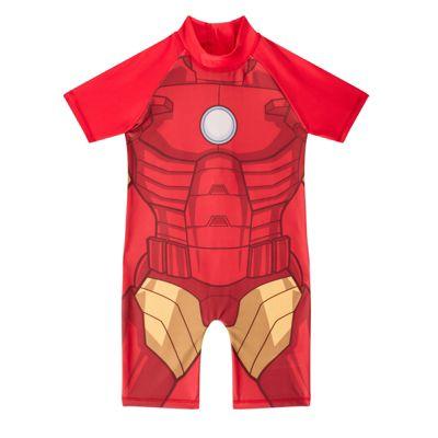 Marvel Comics Iron Man Boys Surf Suit Red 18-24 Months