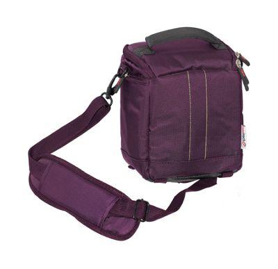 Navitech Purple Protective Portable Handheld Binocular Case for Hawke / Vortex / Celestron