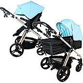 My Babiie MB150BB 3 in 1 Pushchair (Baby Blue)