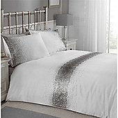 Rapport Blush Shimmer Duvet Cover Set - Silver