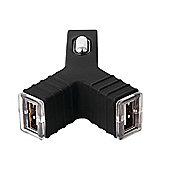 Groov-e GVCC2BK 2400 mAh Dual USB Car Charger