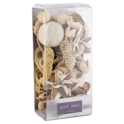Tesco White Linen Pot Pourri