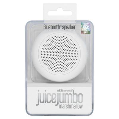 Juice Jumbo Marshmallow, Bluetooth speaker, White