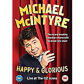 Michael McIntyre - Happy and Glorious DVD