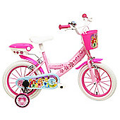 DISNEY Princess 14 inch Wheel Pink, Kids Bike.