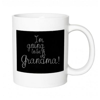 Thoughtful and Decorative 'I'm Going To Be A Grandma!' Ceramic Gift Mug